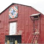 Building a barn art tapestry across Sampson