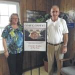 Chamber honors Wiggins Insurance