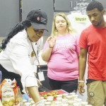 Clinton High School students receive lessons from culinary specialist