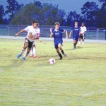 Union, East Bladen game suspended