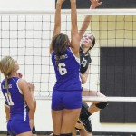 Clinton drops Midway in volleyball match