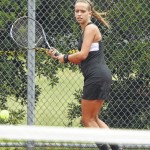 Clinton tennis claims conference crown