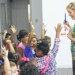 N.C. Oral Health visits Clinton's College Street Academy, screens students