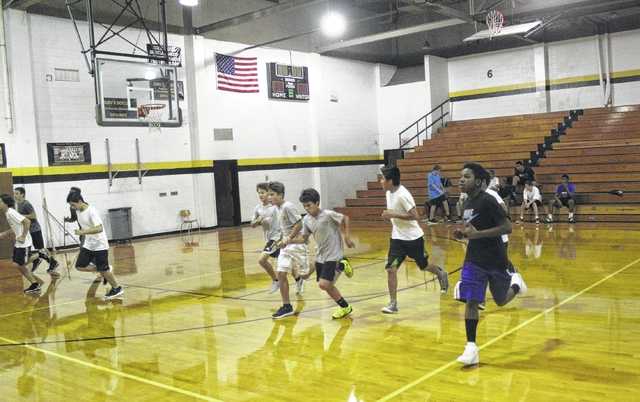 Sampson Middle School participate in MATCH fitness program