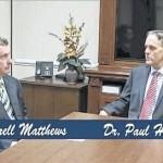 SCC president talks with Matthews