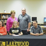 Anna Heinz signs with UNCP