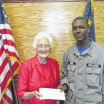 Cadets donate to charitable organizations