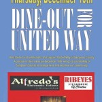 'Dine Out' for United Way