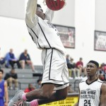 Clinton soars past East Bladen