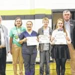 Locals win essay contest
