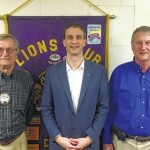 Hill guest at Lions Club