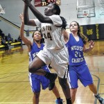 Hobbton girls beat Neuse, 56-49