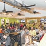 Parkside Sports Grille offers food, entertainment