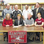 Clinton's Carr signs with Hampden-Sydney