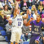 Raiders fall to West Bladen on Senior Night