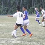 Lady Leopard soccer blanks Neuse