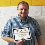 Hobbton band director honored by Sampson County Schools