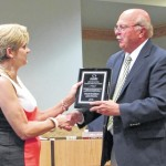 DSS leader Bradshaw recognized by county