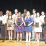 Clinton High honors athletes