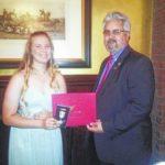 Mingo SCV Camp gives award to Union JROTC cadet