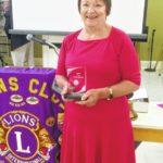 Lions Club presents honors