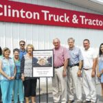 Clinton business honored