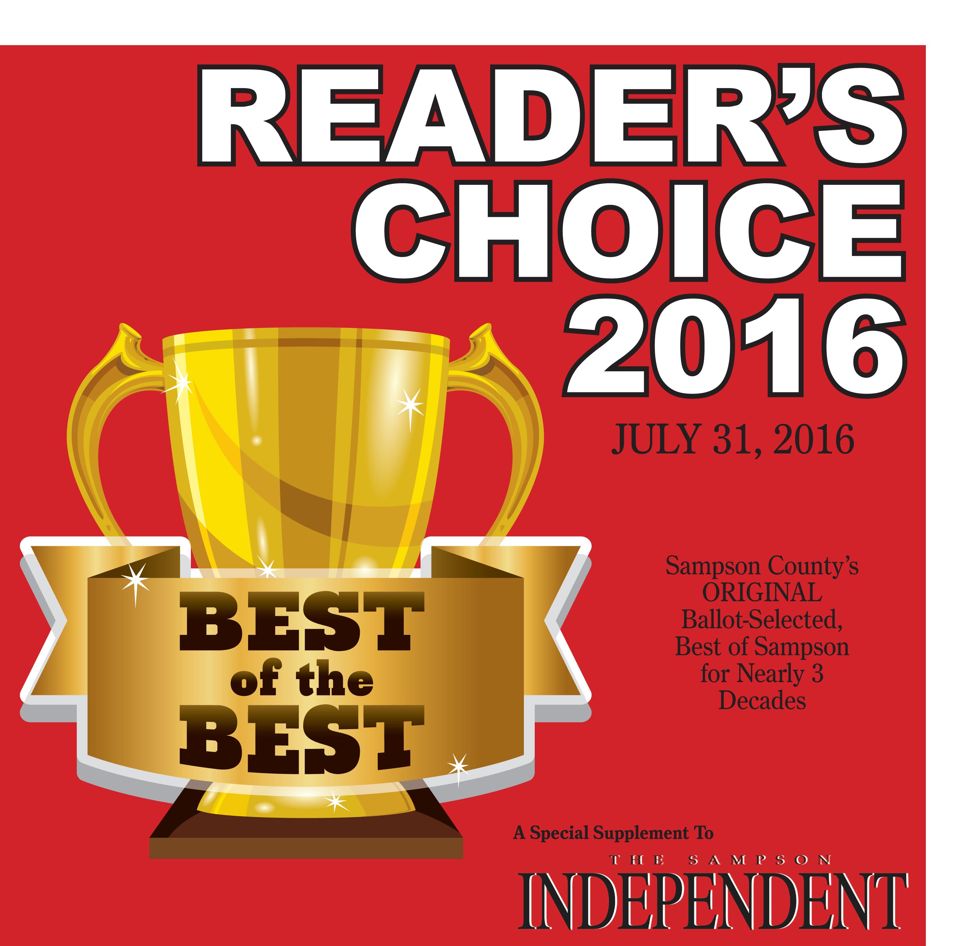 eEdition: Reader's Choice 2016