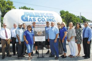 Parker Gas honored