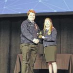 Midway's Strickland earns honor