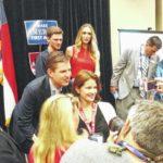 RNC: Trump's son praises North Carolina during visit