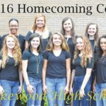 LHS Homecoming court