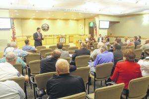 Rouzer discusses Hurricane Matthew at roundtable