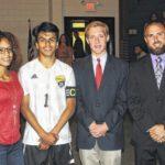 Hobbton students plea for track project