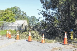 Cleanup efforts continue in Clinton