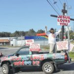 Traveling evangelist spreads message in Sampson