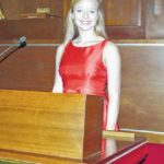 Stephanie Prestage performs national anthem for NC State House of Representatives