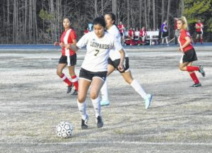 Lady Leopards blank Union, improve to 2-0 on young soccer season