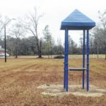 Garland continues progress with new park, installs playground equipment