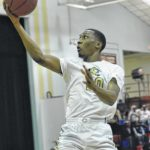 Horses upend East Bladen, claim title