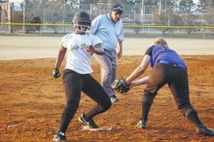 Lady Titans earn first win at Clinton