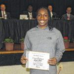 Polk honored by Sampson Schools