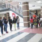 Young Spartans show appreciation following smoke scare