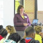 Author Cynthia Lord visits Sampson Middle, Sunset Avenue
