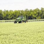 Farmers busy spraying, planting