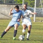 Horses advance with blowout