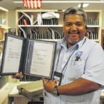 City carrier Monk honored for 25 years
