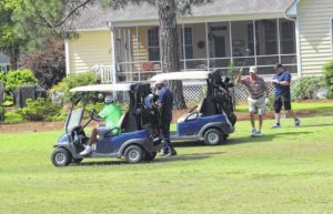 Inaugural golf tournament raises money for cadets