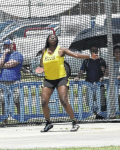 Hobbton shines at state games